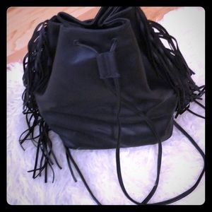 🖤Victoria Secret Fringe Draw String backpack🖤